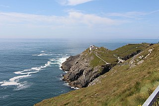 Mizen Head Point in southwest Ireland