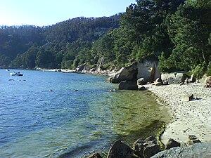 Moaña - A Borna Beach.