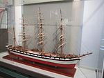 Model of Wanderer (ship, 1891), Merseyside Maritime Museum (3).JPG