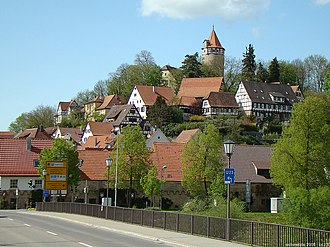 Möckmühl - Möckmühl viewed from southeast
