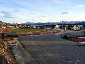 Molde Idrettspark - Image: Molde idrettspark IMG 0289
