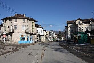 Momin Prohod - Image: Momin prohod main street