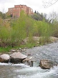 Monasterio de Vico, junto al río Cidacos