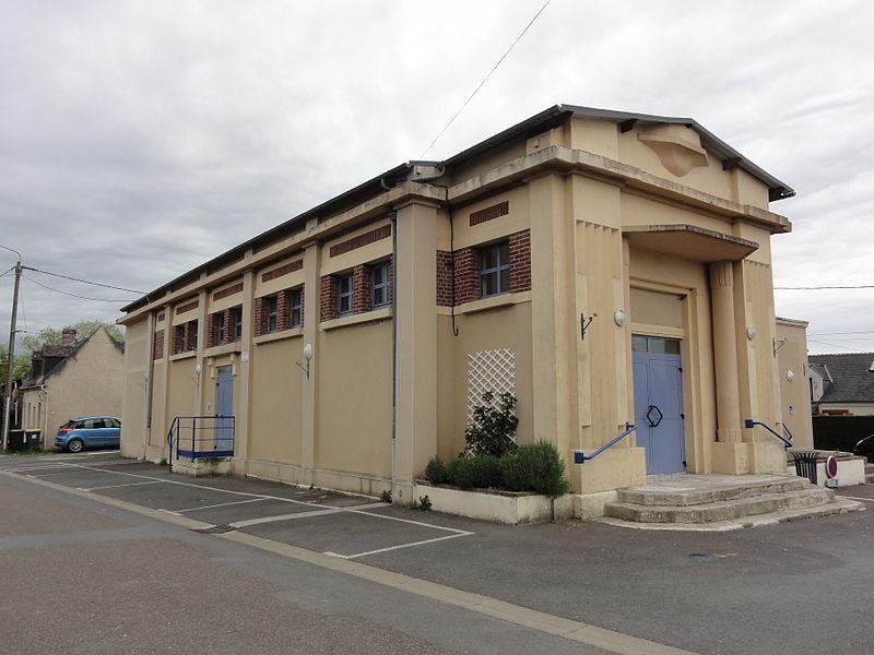 Monceau-lès-Leups (Aisne) salle des fêtes