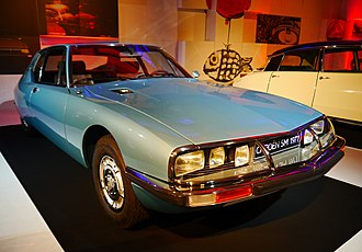 Citroën SM - Image: Mondial de l'Automobile 2012, Paris France (8665411087)