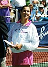 Monica Seles lors du tournoi US Hardcourt (San Antonio – 1991)