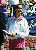 Моника Селеш 1991. године