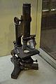 Monocular Straight Tube Microscope - Jagadish Chandra Bose Museum - Bose Institute - Kolkata 2011-07-26 4028.JPG