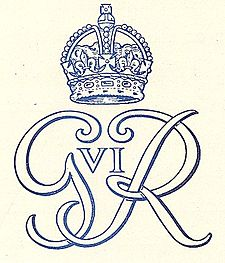 Royal cypher (monogram), 1949 MonogramGeorgeVI.jpg