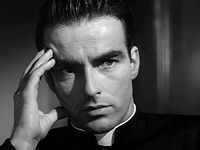 Montgomery Clift no trailer do filme I Confess  (1953).