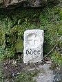 Monument at Blaen y Glyn waterfall - geograph.org.uk - 401423.jpg