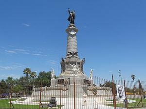 Ciudad Juárez - Benito Juárez monument located in central Juárez