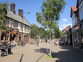 Great Crosby suburb of Crosby, Merseyside, England