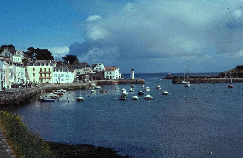 Morbihan Belle-Ile Sauzon Port