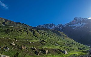 Pin Valley National Park - Image: Morning scene in Thuskeo Dhar
