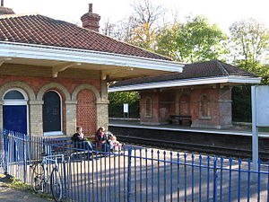 1848 in architecture - Mortimer railway station