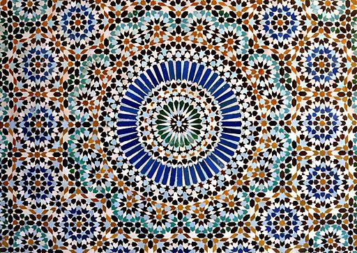 Mosaic - Mosquée de Paris