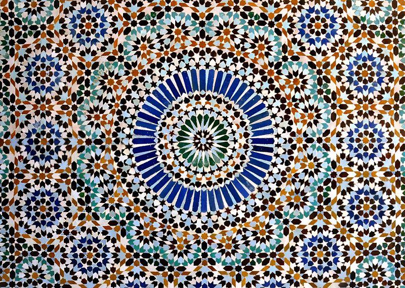 File:Mosaic - Mosquée de Paris.jpg