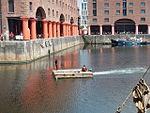 Motorised raft, Albert Dock, Liverpool - 2013-06-07 (36).JPG