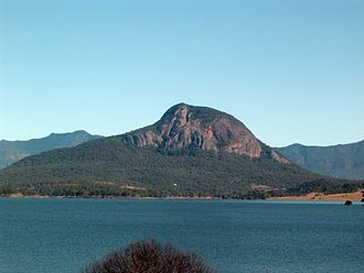 Moogerah Peaks National Park - Mount Greville and Lake Moogerah, 2011