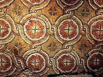 Aladzha Monastery - Image: Mozaiculdela Aladza 06