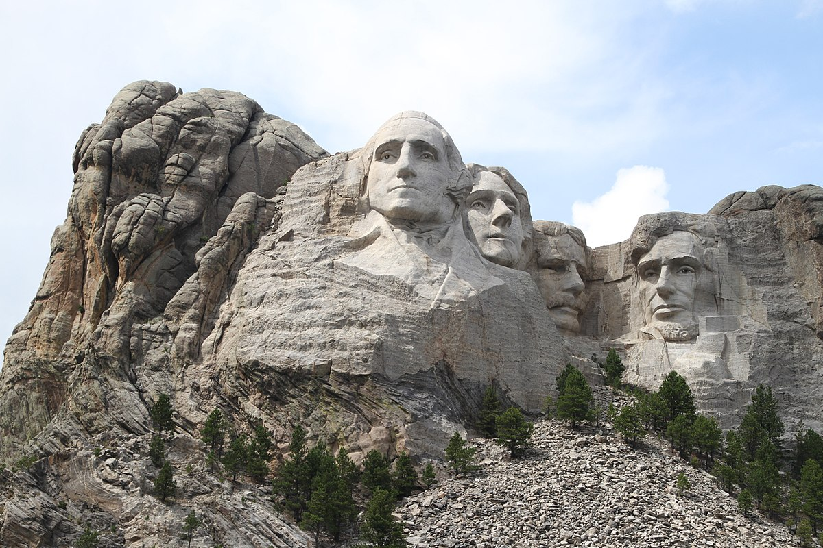 Mount rushmore wikipedia for Mount rushmore history facts