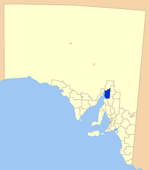 District Council of Mount Remarkable - Location of the District Council of Mount Remarkable