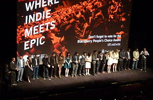 Much Ado About Nothing (2012 film) - Cast and crew at the 2012 Toronto International Film Festival premiere.