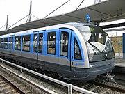 U-Bahn Wagen Typ C in Garching-Hochbrück