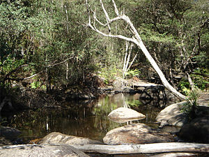 Murrindindi, Victoria - The Murrindindi River flows through the town