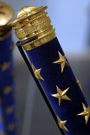 Baton (military) - Baton of a modern marshal of France.