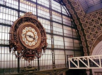 Musée d'Orsay - Musée d'Orsay Clock, Victor Laloux, Main Hall