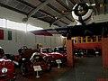 Museu Eduardo André Matarazzo - Bebedouro - Em destaque o carro britânico Humber Limited de 1909 e o italiano Maserati 3500GT (Gran Turismo) de 1961. No pedestal, o avião North American AT-6D Texan que f - panoramio.jpg