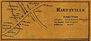 Mycenae, New York - Mycenae as Hartsville, 1860