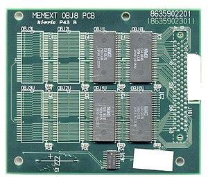 Namco NB-1 - NB-1 MEMEXT OBJ8 PCB