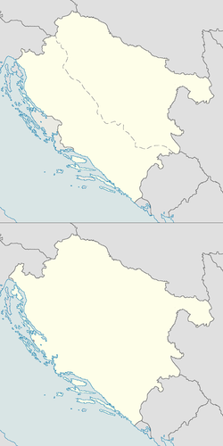 Location of Kroatija