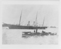 NH 76925 - No 3 (British first class torpedo boat, 1878-1905) (foreground) and OSBORNE (Paddle Royal yacht, 1870-1908).tiff