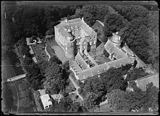 Well, Limburg - Image: NIMH 2011 0858 Aerial photograph of Well, The Netherlands 1920 1940