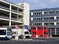 NK60 DPO - Stagecoach in Newcastle 19682 (Stagecoach Events) Enviro 400. Olympic games Media Mall bus station. (7754119812).jpg