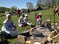 NT 2014 Frontier Muster and Trade Faire (14062919182) cooking fire.jpg