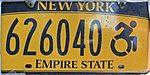 NY license plate 626040 handicapped.jpg