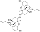 Chemical structure of Naloxonazine