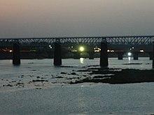 The Narmada River in central India.