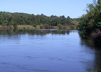 Nashaway - The Nashua River in Groton, MA.  The tribe took its name from this tributary of the Merrimack River.
