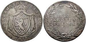 Талеры германии купить монета 1 рубль 2017