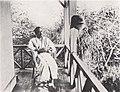 Natsume Soseki at Soseki Sanbo in 1915.jpg