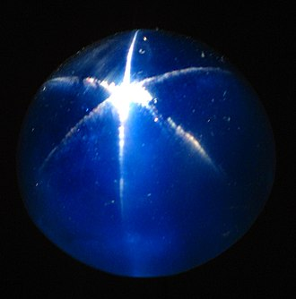 National Museum of Natural History - The Star of Asia, a large, 330-carat cabochon-cut star sapphire in the U.S. National Gem Collection