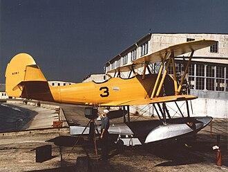 Naval Aircraft Factory N3N - US Navy N3N-1 floatplane.