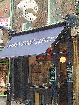 Covent Garden - Cheese shop off Neal's Yard
