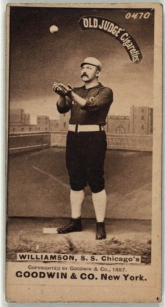 Ned Williamson - Image: Ned Williamson Baseball Card